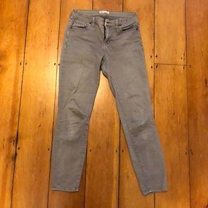 Madewell grey pants